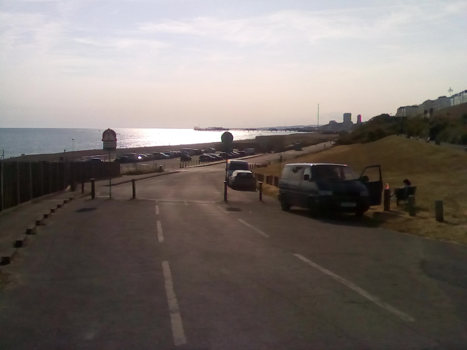 View towards Pier from East End of Madeira Drive